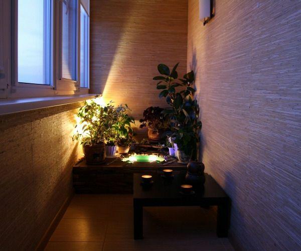 Balkon Beleuchtung cooler kleiner balkon 40 kreative und praktische ideen kleiner