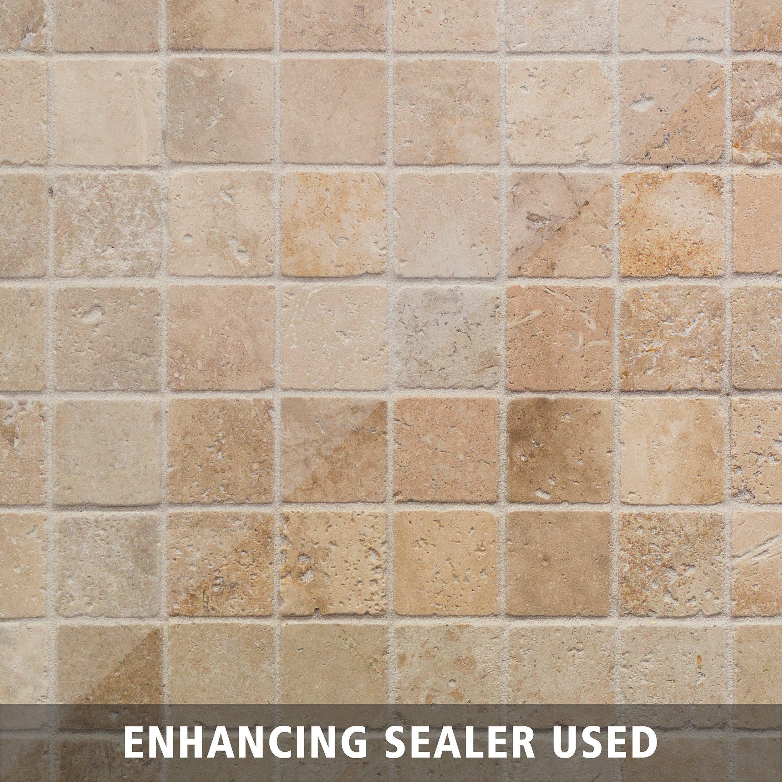 Country Beige Travertine Mosaic Floor Decor Mosaic Flooring Floor Decor Kitchen Design Diy