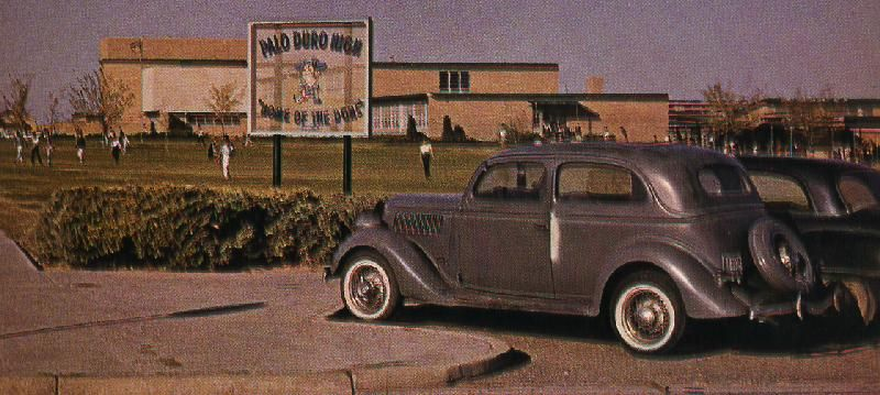 1964 photo of Palo Duro High School / opened in 1955