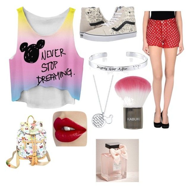 """""""Minnie Fashion"""" by clemson06 on Polyvore featuring Vans, Disney, Dooney & Bourke, Levi's, Topshop and Abercrombie & Fitch"""