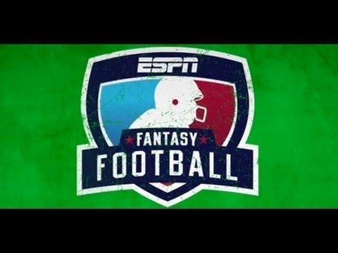 ESPN Fantasy Football App, Live Draft Using Your iOS