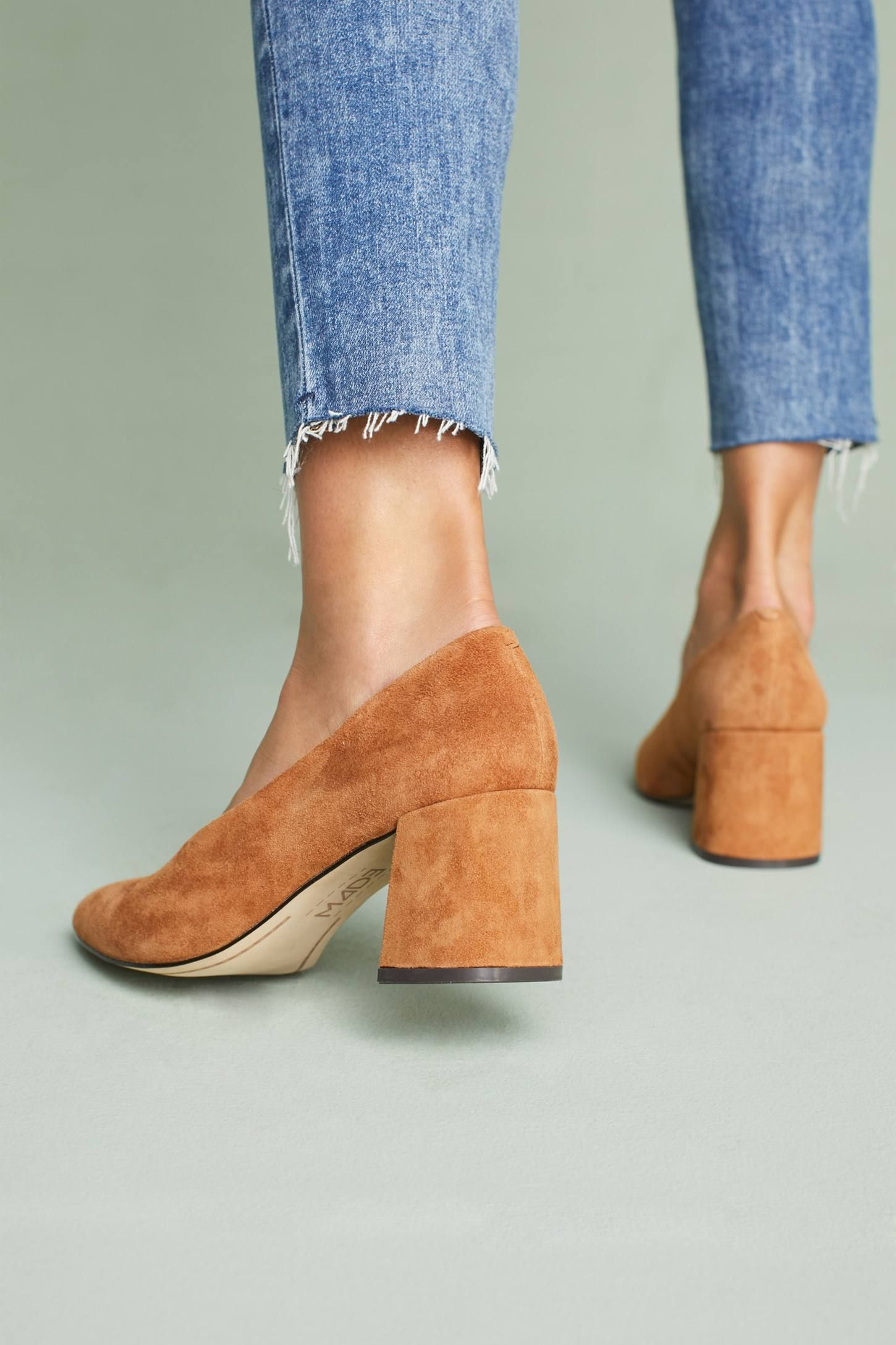 74ce10ce3eb3 Shop the M4D3 Helen Block Heels and more Anthropologie at Anthropologie  today. Read customer reviews