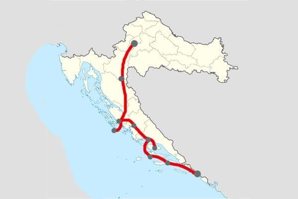 Itineraire De 14 Jours En Croatie De Zagreb La Capitale A Dubrovnik En Passant Par Zadar Sibenik Le Parc National Krka Les Lacs De P Dubrovnik Zagreb Zadar