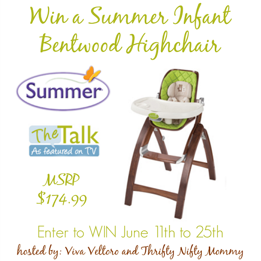 Summer Infant Bentwood Highchair Giveaway   Parenting Patch: Enter To Win  One (1)