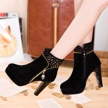 Por Atacado Sapatos Chineses De Pano Preto Compre Baratos
