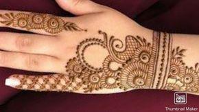latest & stylish Arabic Mehndi Design for back hand ll mehndi design ll stylish mehndi design ll मेह