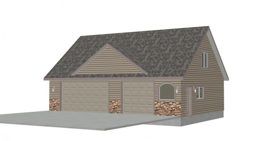 Functional Detached Garage Plans With Bonus Room And Bathroom Awesome Traditional House Ious Stepinit Designs