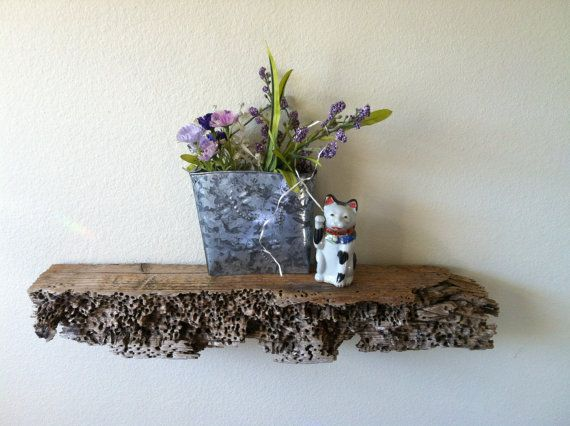 Drift Wood Shelf for Beach Lodge Woodland Decor by patsytroxell, $45.00