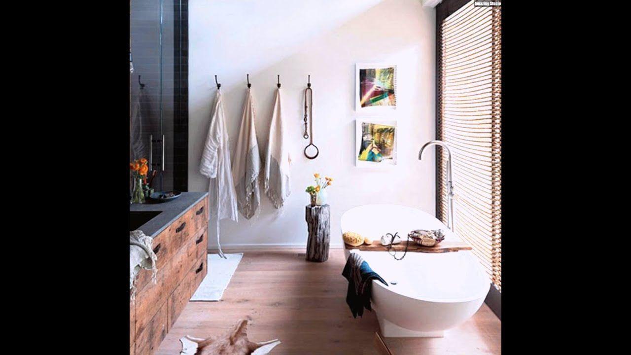 Kleines Rustikales Badezimmer Einrichten Design Ideen Deko Diydekorationenbadezimmer Dekorationenbadez In 2020 Badezimmer Rustikal Badezimmer Gunstig Badezimmer