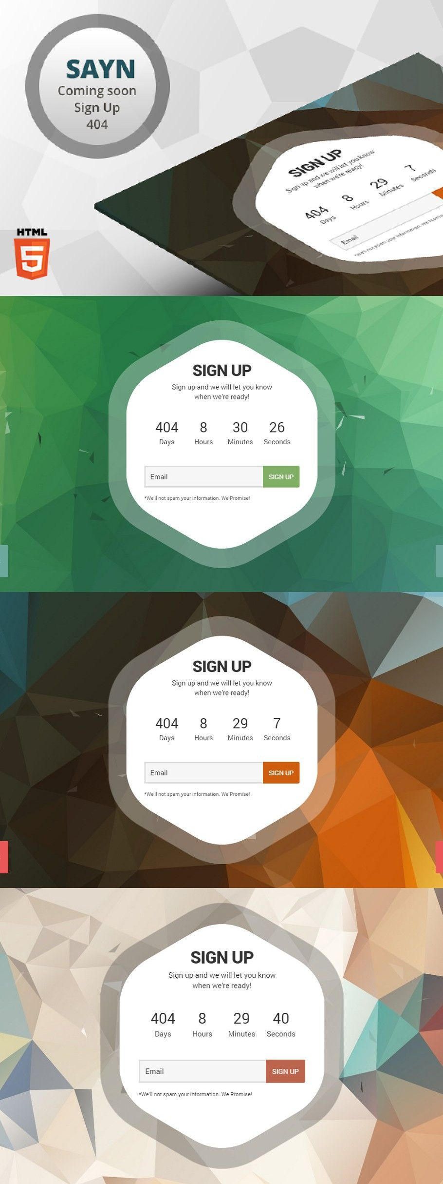 Pin on Landing Pages Templates