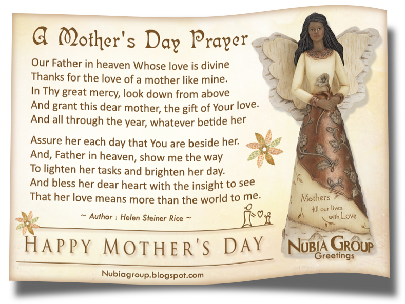 Nubia_group : nowhere else! 'A MOTHERS DAY PRAYER'   Poems/Quotes ...