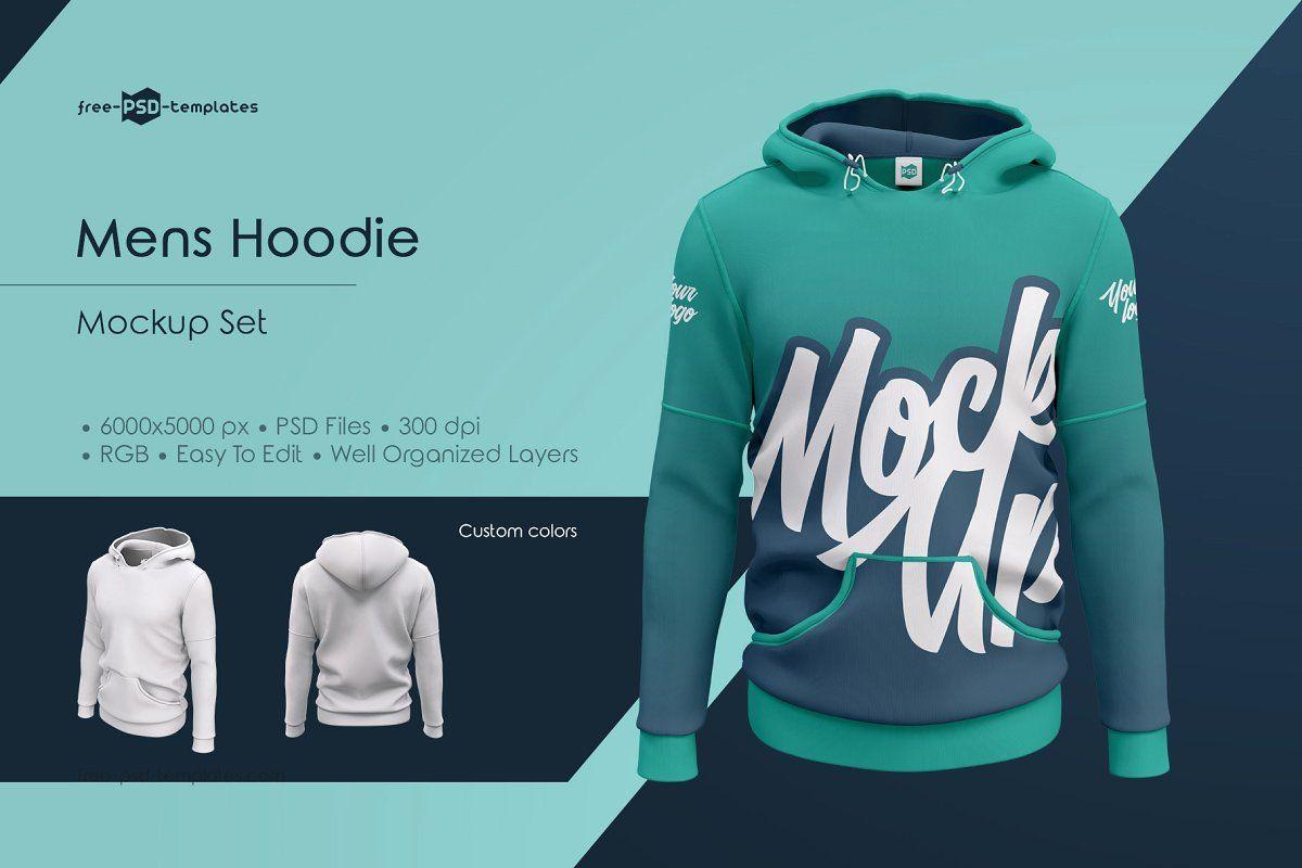 Download Mens Hoodie Mockup Set Hoodie Mockup Shirt Mockup Hoodie Mockup Free