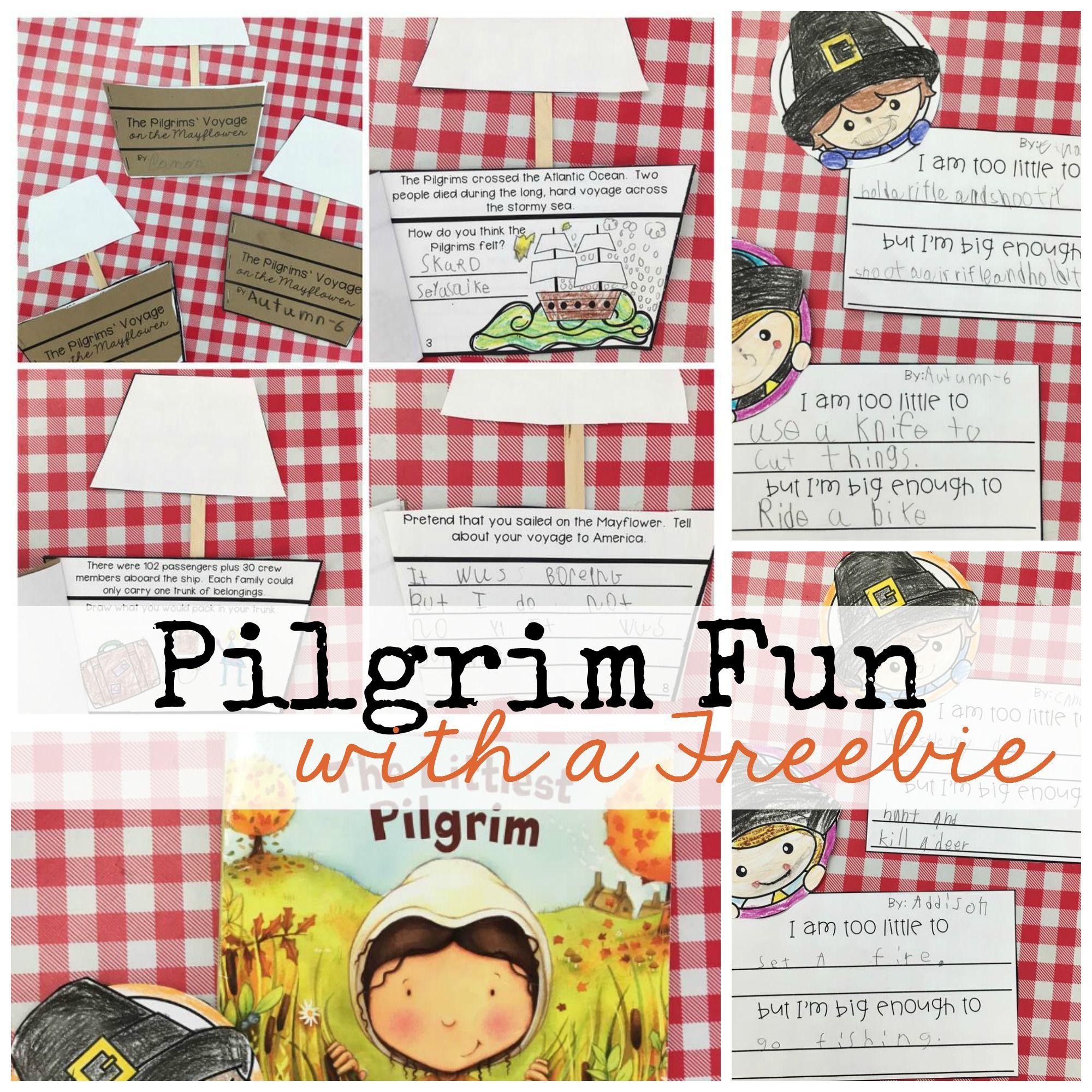 Pilgrim Fun With A Freebie