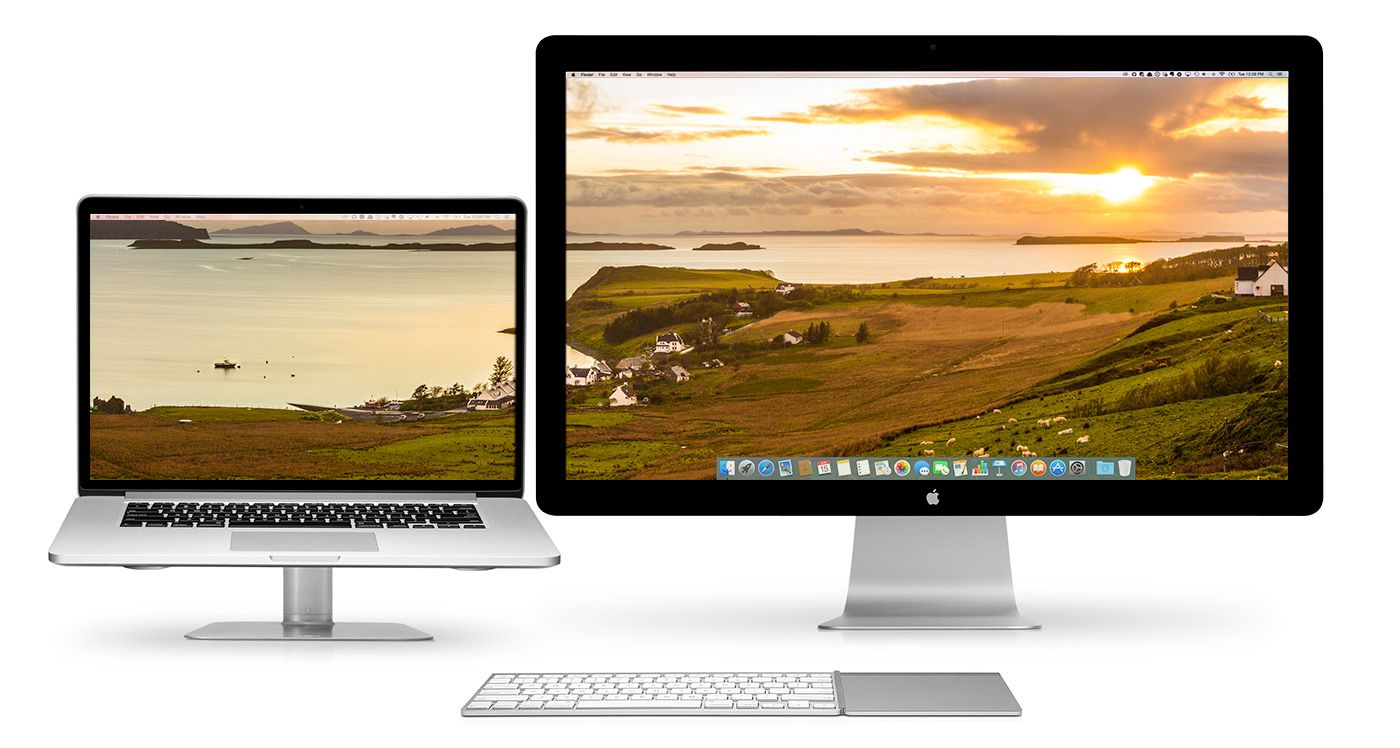 Twelve South, dual screen monitor wallpapers Dev