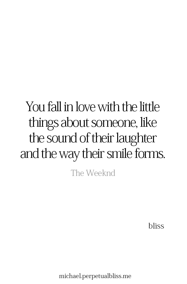 sound of laughter and the way his smile forms | endless love