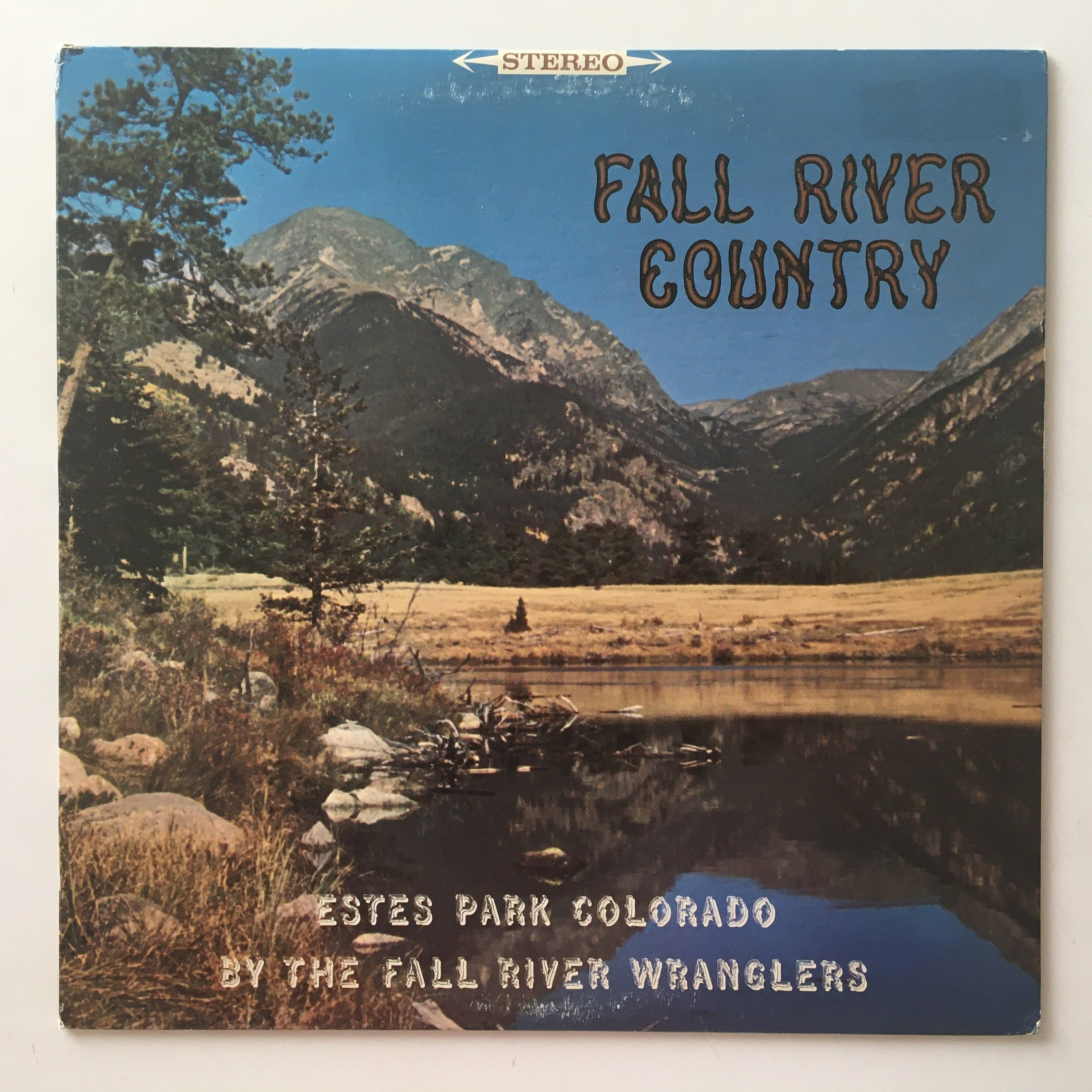 Fall River Wranglers Fall River Country LP Vinyl Record  Etsy