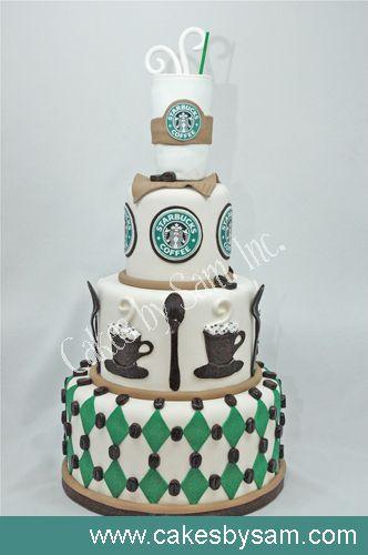 Pleasant Starbucks Birthday Cake With Images Starbucks Cake Starbucks Funny Birthday Cards Online Unhofree Goldxyz