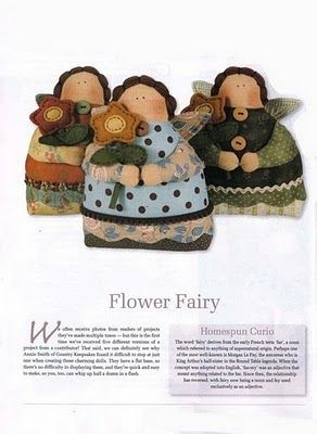 Artesanato e Cia: bonecas/bonecos em tecido