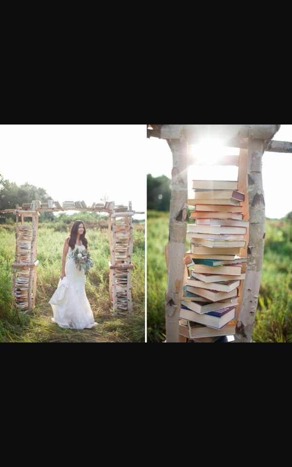 Stunning book archway its so cute. Enquire today!