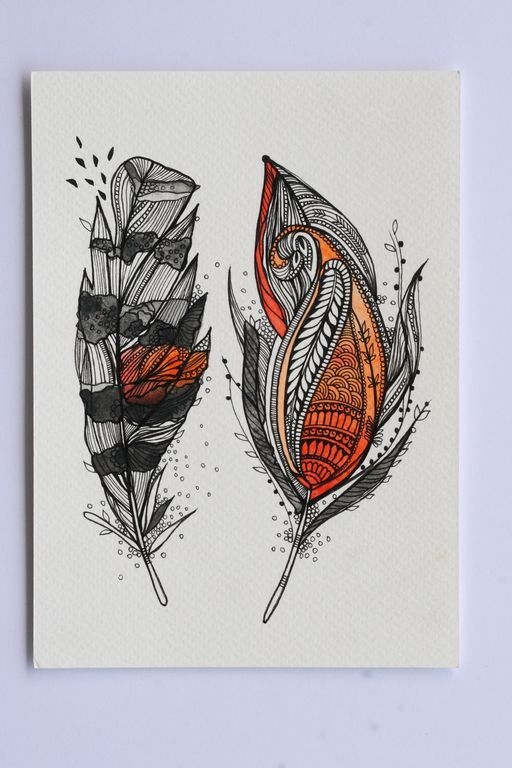 this item is unavailable  etsy  feder kunst zentangle