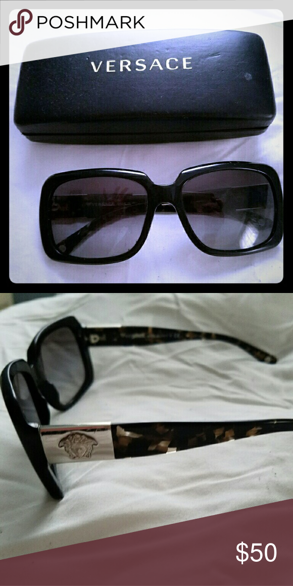 Versace sunglasses Good condition, some minor scratching on lenses ...