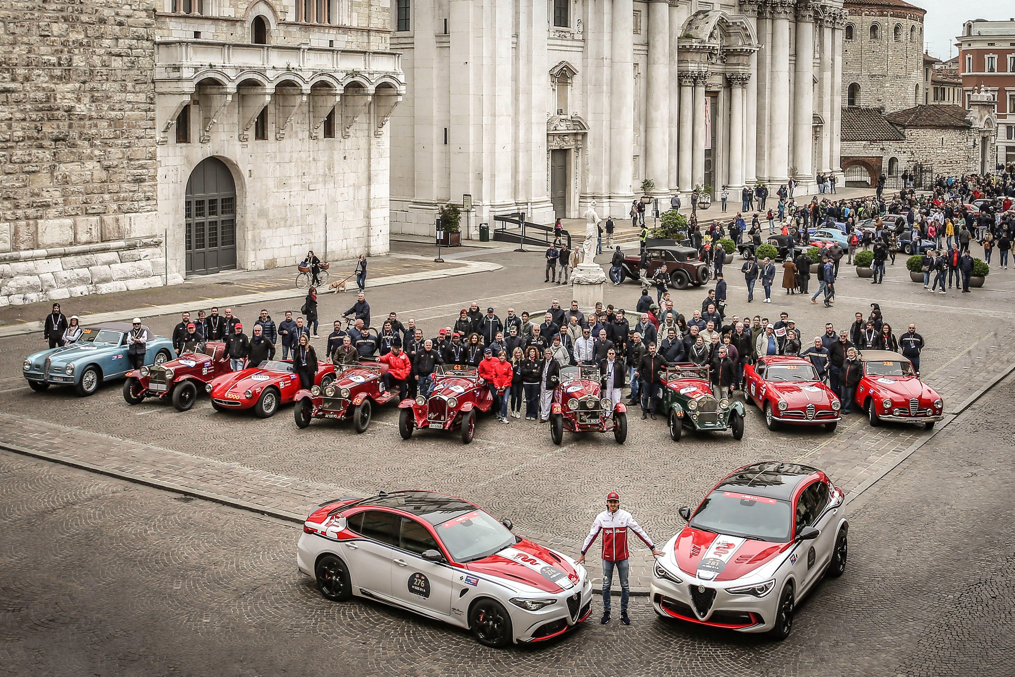 """Alfa Romeo sarà Automotive Sponsor della """"1000 Miglia"""" 2020"""