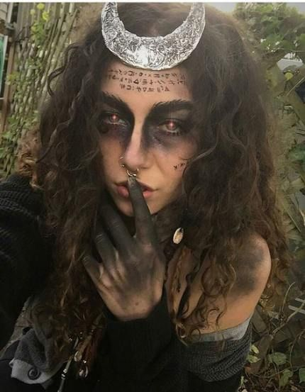 Trendy Makeup Halloween Witch Goth 30+ Ideas