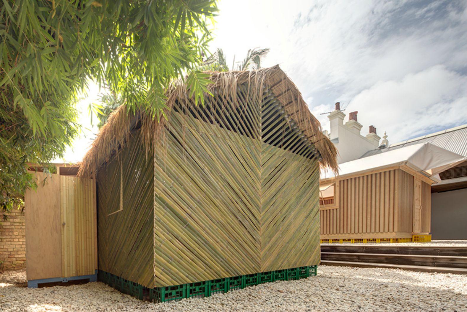 ingenious cardboard and bamboo