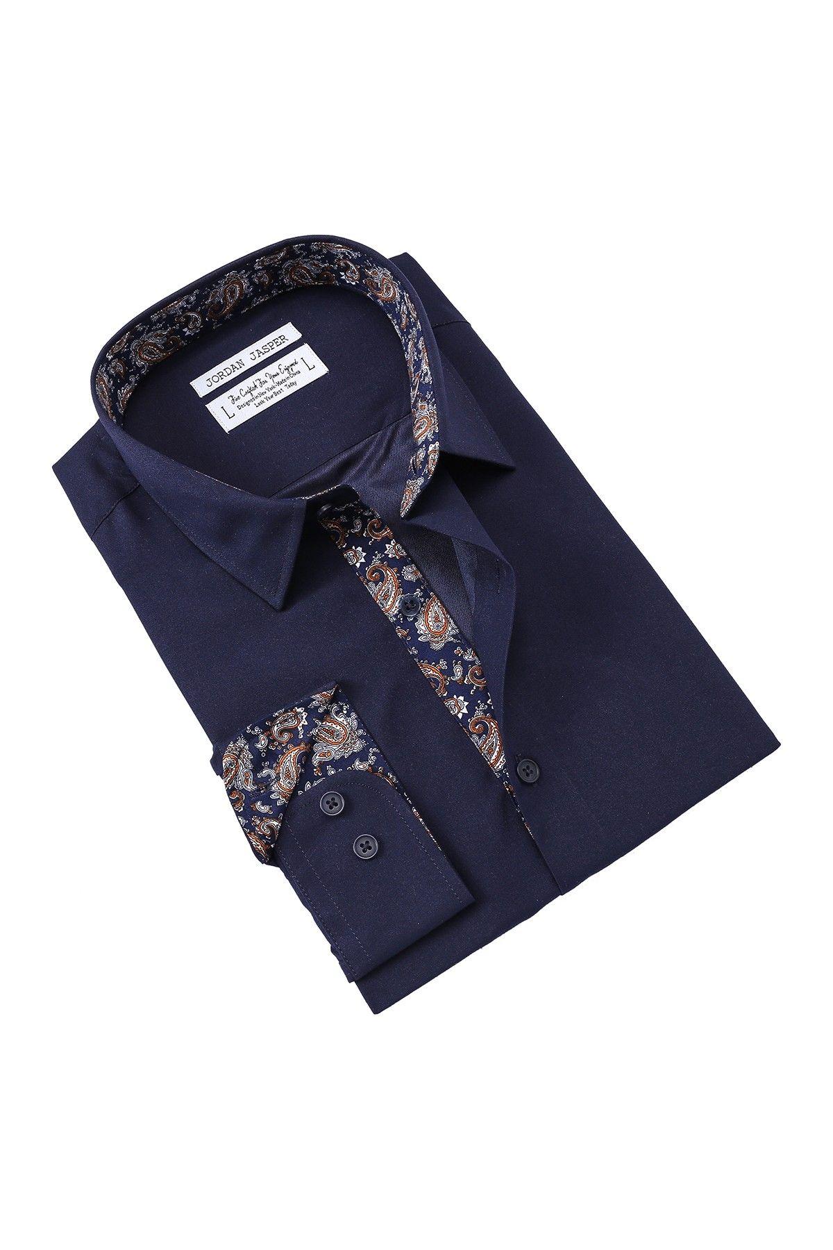 e4892a8a261a66 Jordan Jasper Novart Slim Fit Shirt Jasper