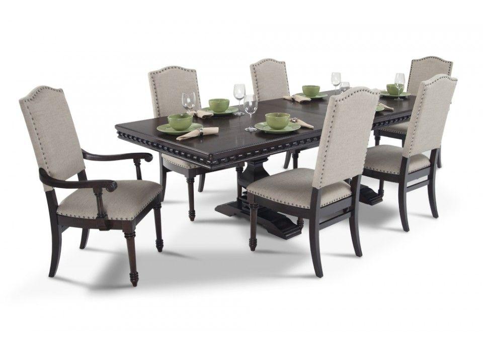 Elegant Bristol 7 Piece Dining Set | Dining Room Sets | Dining Room | Bobu0027s Discount  Furniture