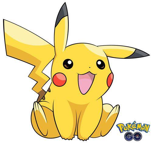 Pikachu 2 de Pokémon Go
