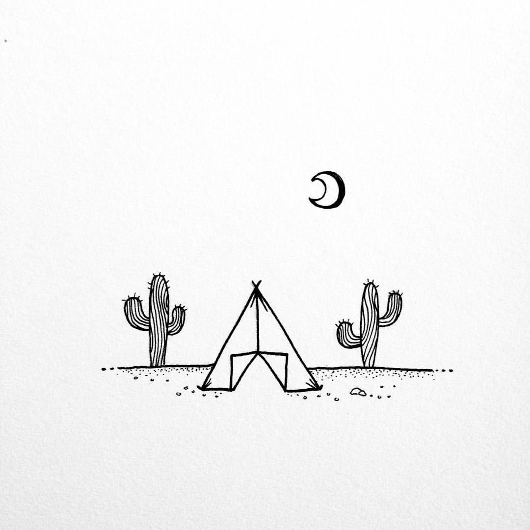 Patty On Instagram I Just Want To Lay Here Under The Moon Instagram Lay Moon Patty Under Mini Drawings Minimalist Drawing Art Drawings Simple