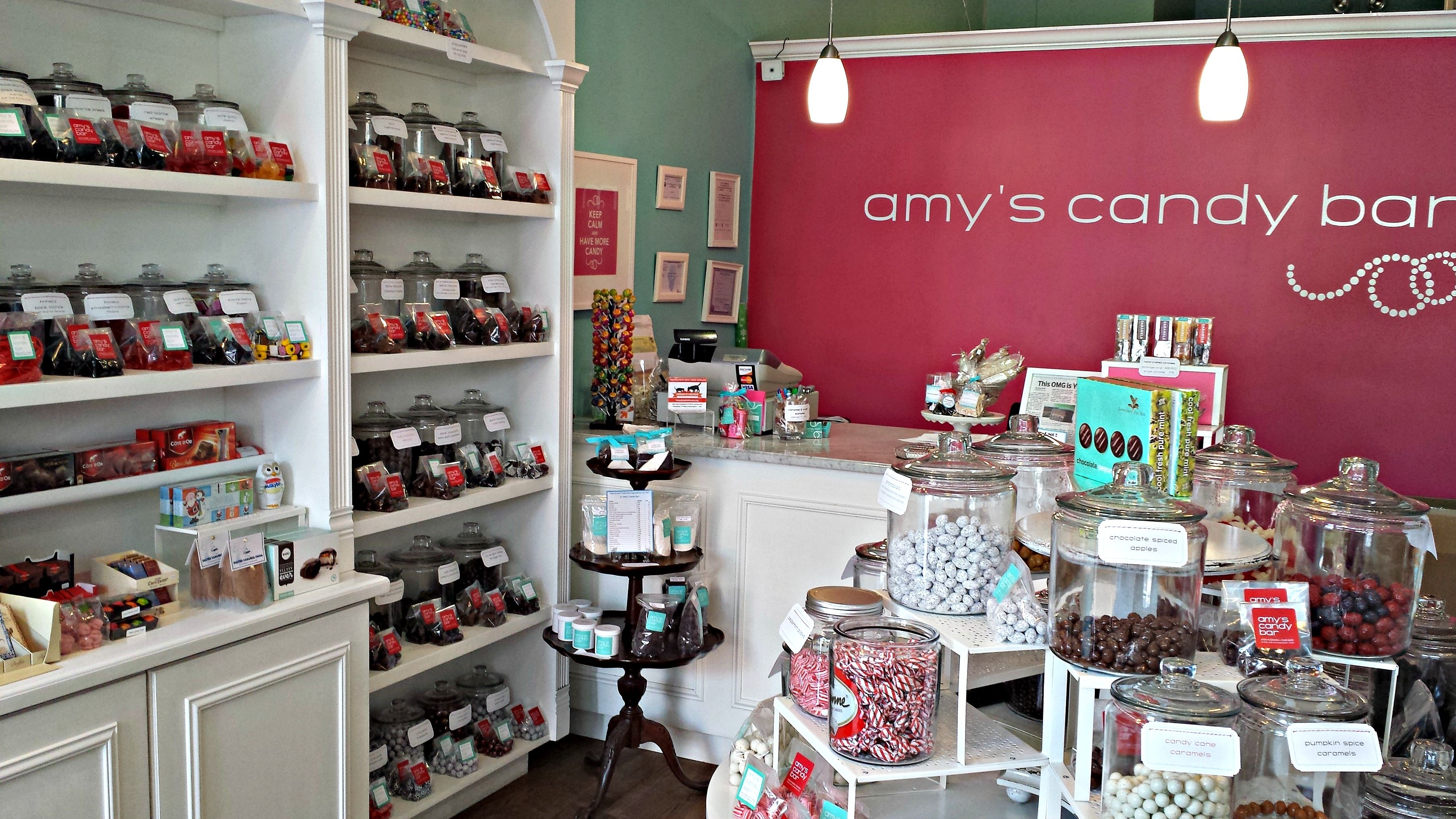 Opening her own sweet shop in 2011 fulfilled a dream for Amy Hansen, who drew on her training at the French Pastry School and a background in marketing and accounting. The glass jars neatly lining the shelves are full of rare and imported candy, licorice, and gummies. But regulars turn up for the handmade turtles and sea-salt caramels.
