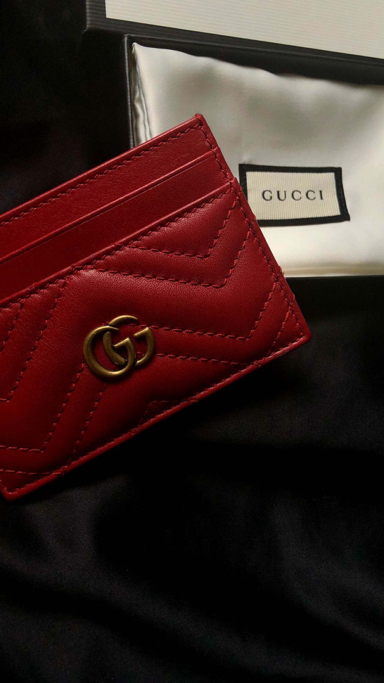 be28c52ed98c Gucci card holder #brandnamebags Gucci Card Holder, Name Card Holder, Brand  Name Bags