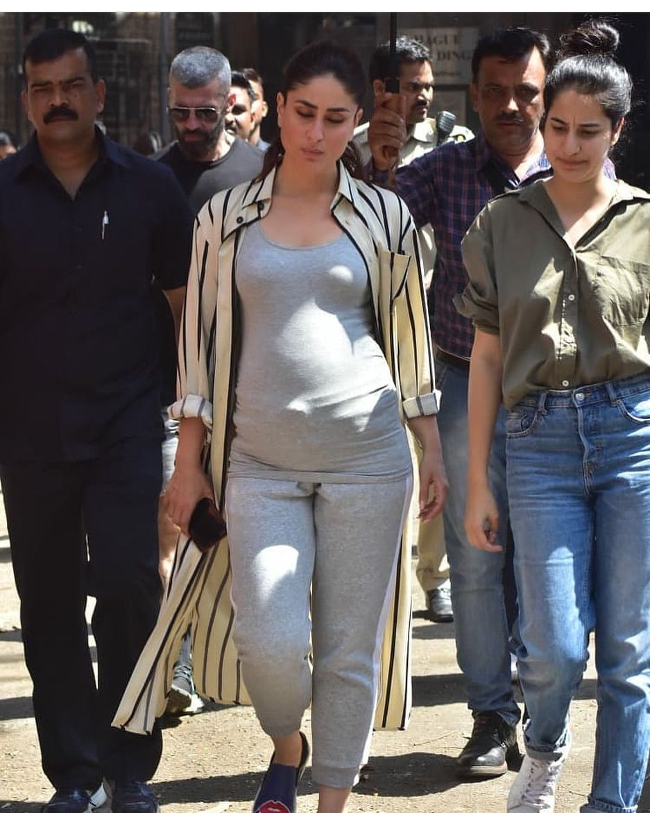 Kareena Kapoor Khan Grabbed Our Eyeballs With Her Baby Bump Is It A Good News Hungryboo Kareena Kapoor Kareena Kapoor Khan Kambakkht Ishq