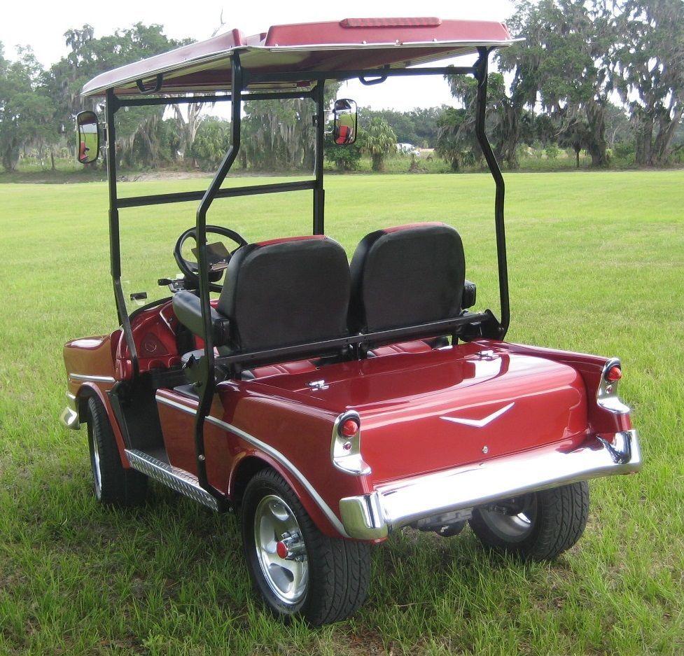 56 Chevy Custom Golf Cart Body Kits Prec  Ezgo