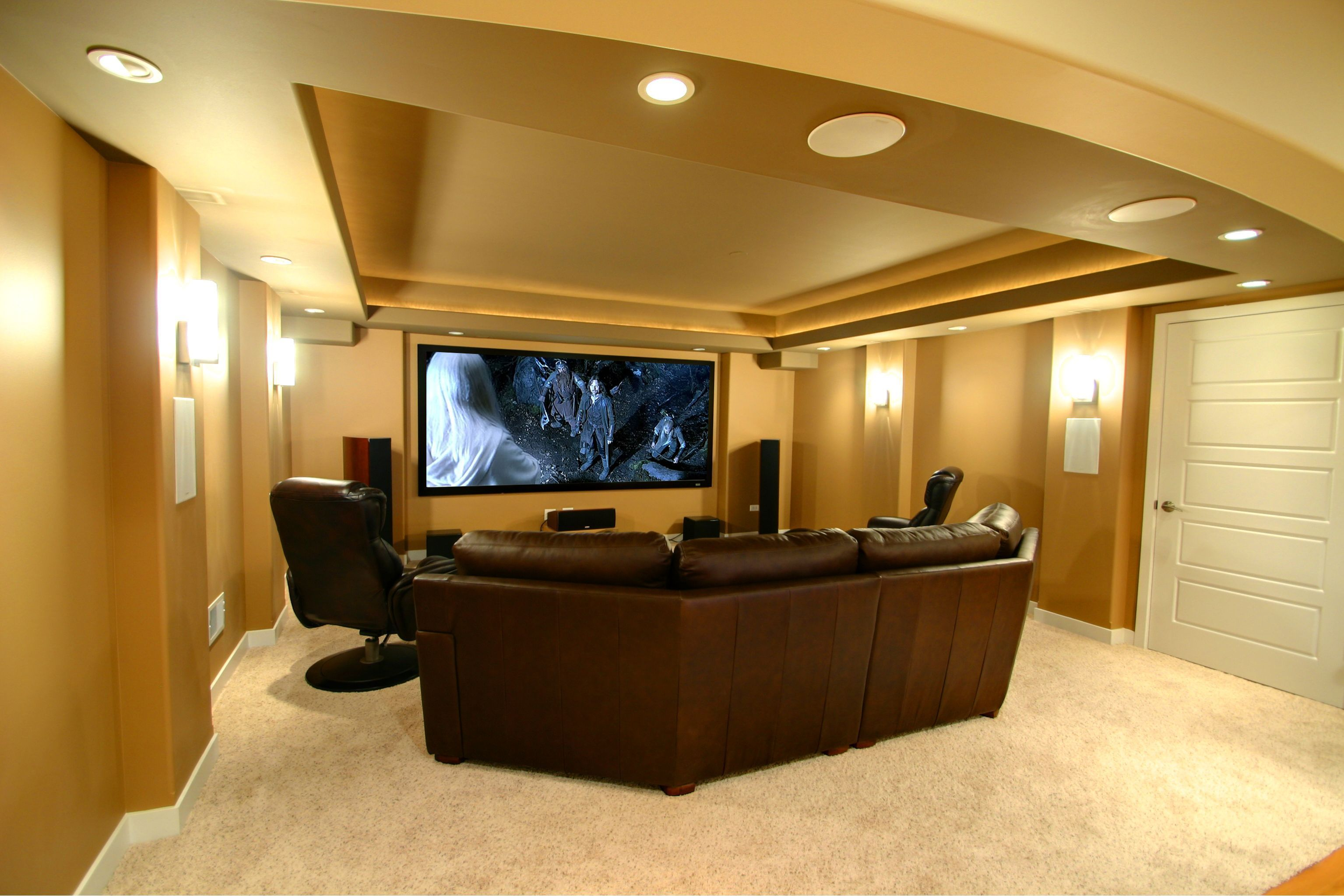 23 Basement Home Theater Design Ideas For