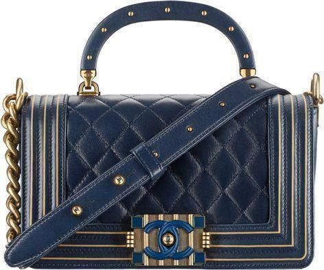 0b9a662e9793 Chanel Metiers D art 2016 2017 Paris Cosmopolite handbag bag season  collection  Chanelhandbags