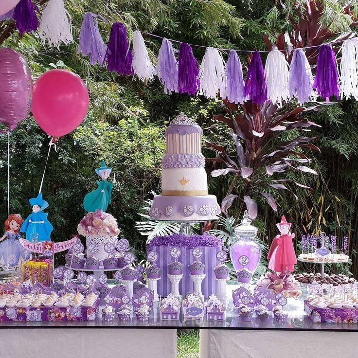 Fiesta princesa sofia (21) - Tutus para Fiestas Mexico - Disfrases personalizados y moños