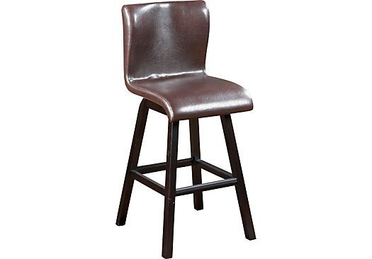 Shop For A Noah Brown Barstool At Rooms To Go Find Barstools That