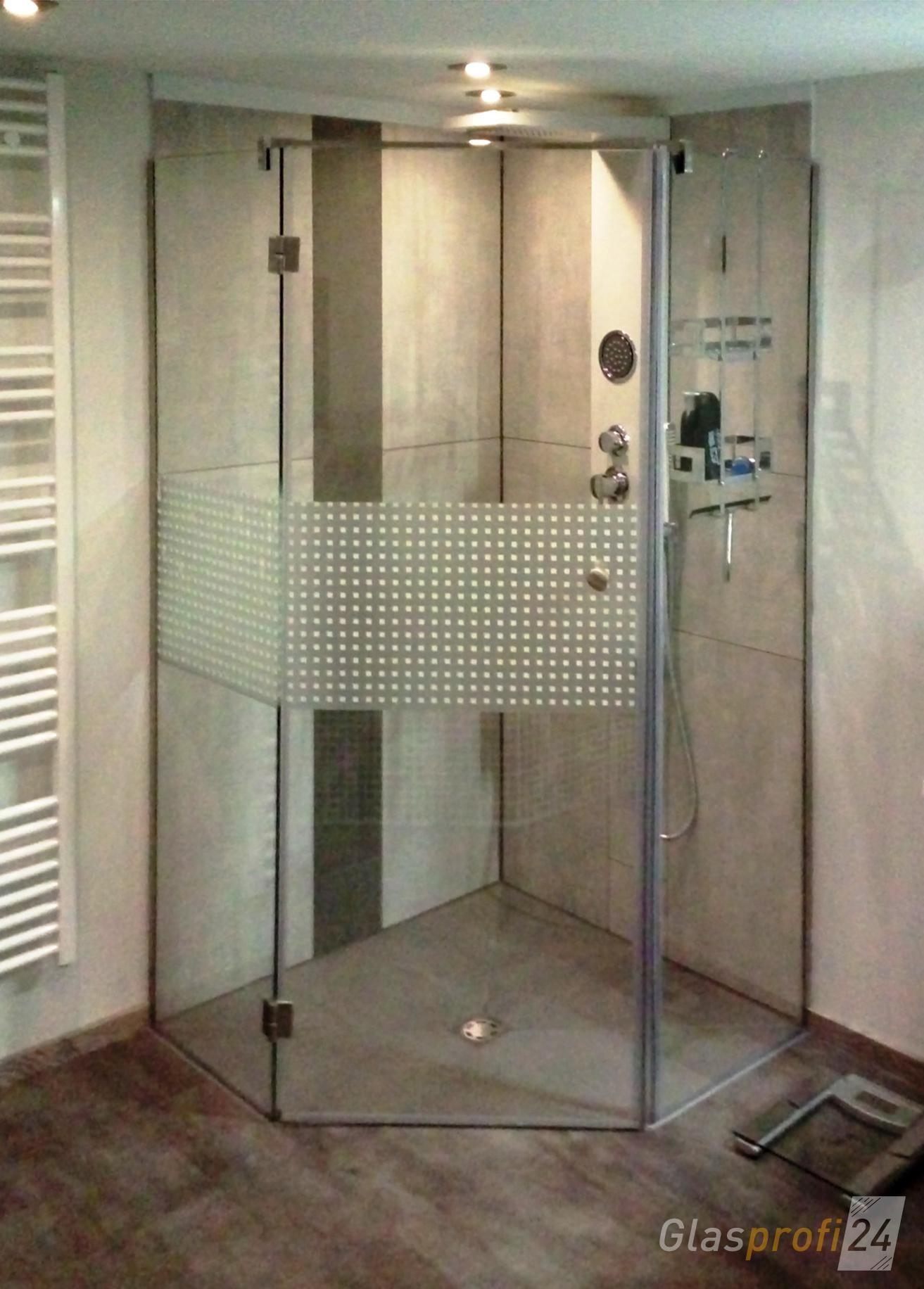 5EckDusche aus Glas GLASPROFI24 in 2019 Badezimmer
