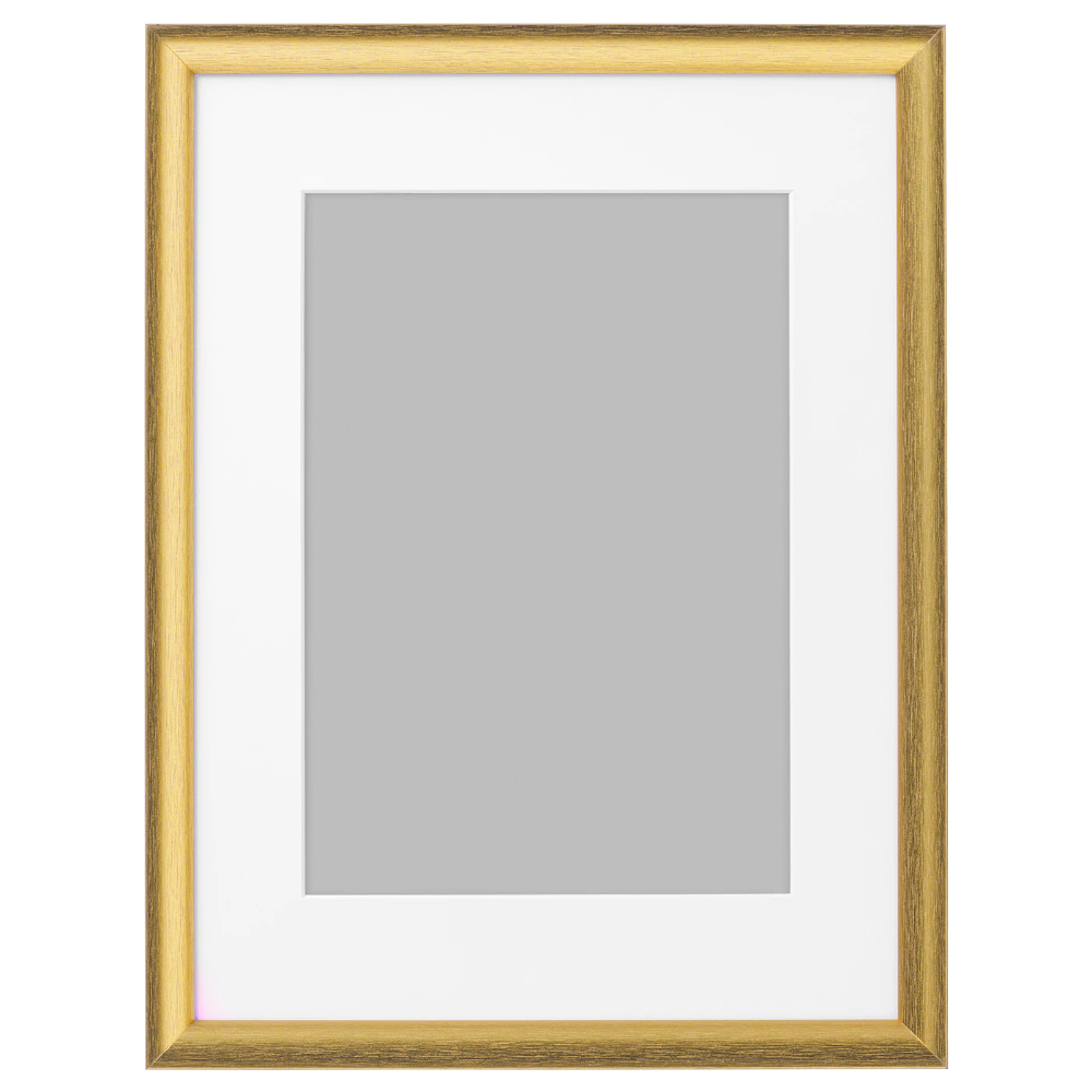Silverhojden Frame Gold 12x16 Ikea In 2020 Gold Picture Frames Frames On Wall Decorating With Pictures