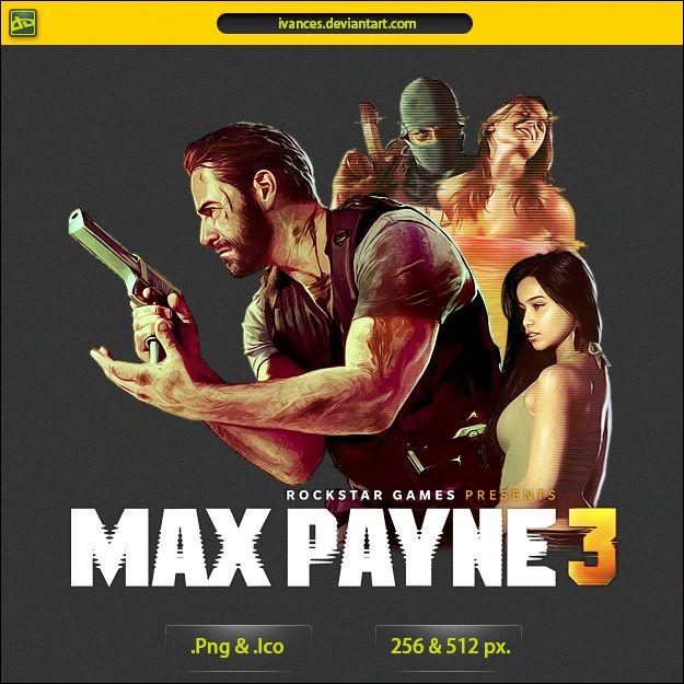 Max Payne 3 Icon V2 By Ivances On Deviantart Max Payne Max Payne 3 Icon