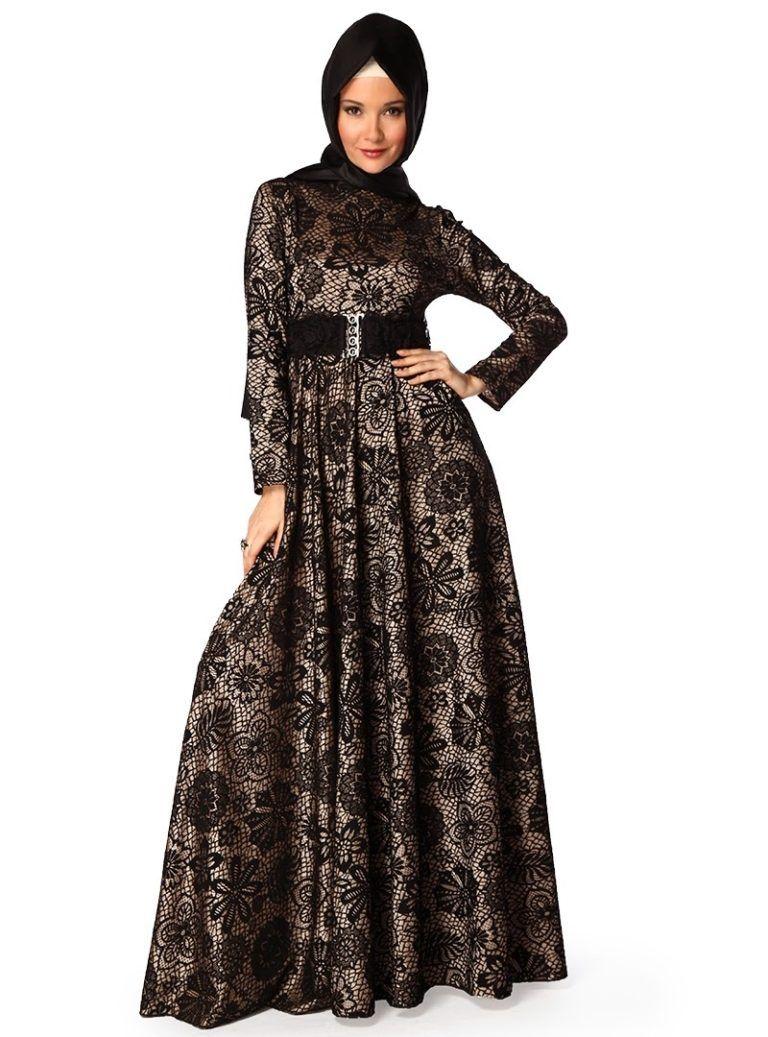 Gamis Muslim Brokat Terbaru  Wanita, Model, Muslim