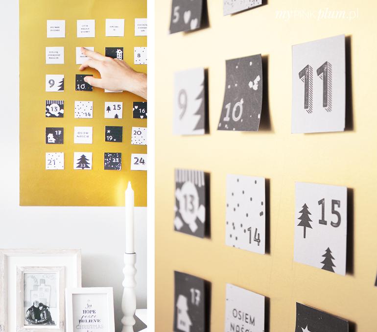 Kalendarz Adwentowy — do druku Gallery wall, Instagram