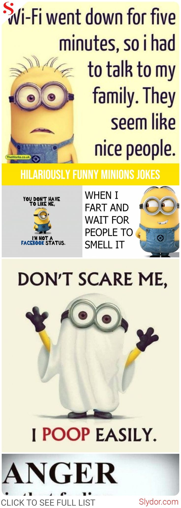 Hilariously Funny Minions Jokes Of All Time minions