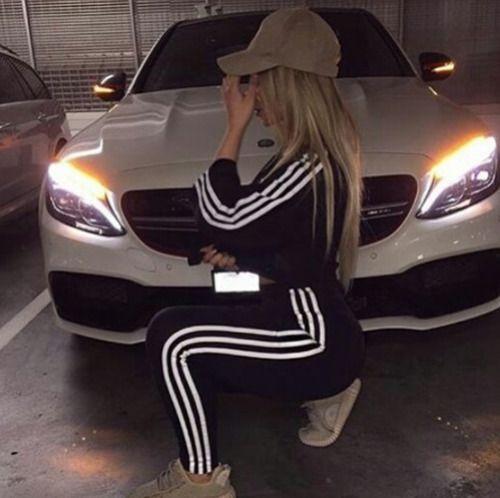 best cheap c0e67 b399e adidas, girl, and car image