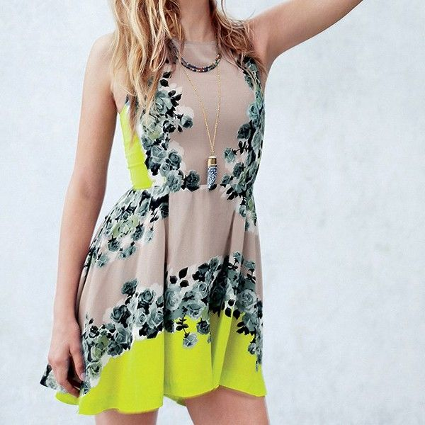 Acid Bloom Kick Out Dress from Picsity.com