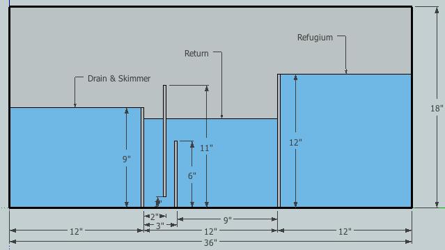 sump design reef central online community salt water tanks