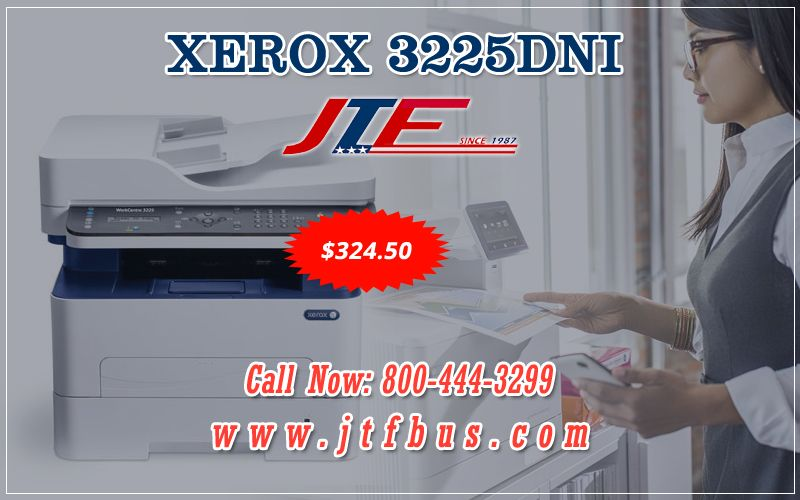 Xerox 3225dni Is The Latest Entry In The Small Workgroup